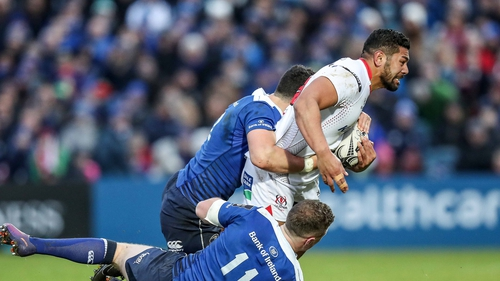 Charles Piutau was named the Pro12 Players' Player of the Year