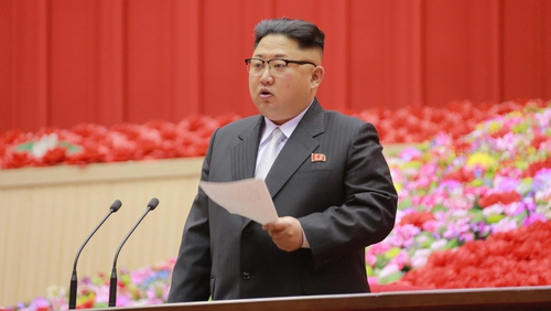 Kim Jong Un made the announcement during a televised New Year's Day speech