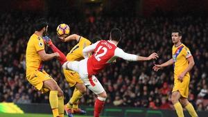 Olivier Giroud scored a wonder goal for Arsenal