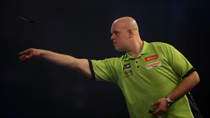 Michael van Gerwen is a hot favourite to win Monday's final