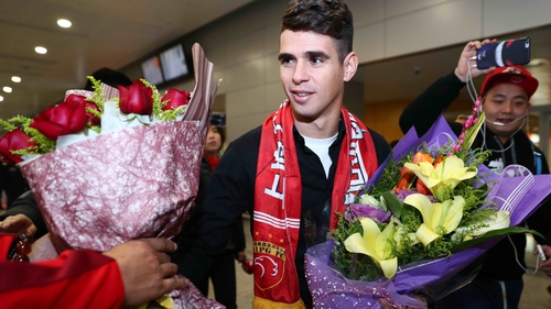 Oscar recently joined Shanghai SIPG from Chelsea for a reported €60m