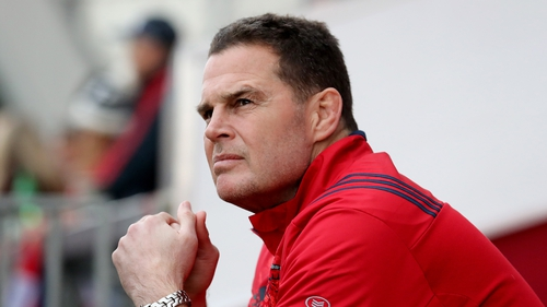 Erasmus joined Munster in April 2016 and has won 26 of his 32 games in charge.