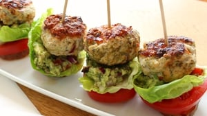 Turkey Slider Burgers
