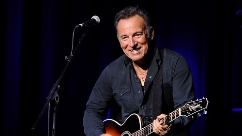 Springsteen: ready to hit the road again