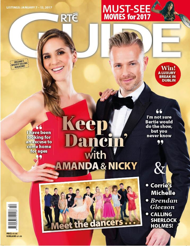 RTÉ Guide on sale now!