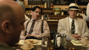Chris Messina (left) with Ben Affleck in a scene from Live By Night