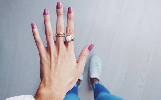 Nice nails, huh?