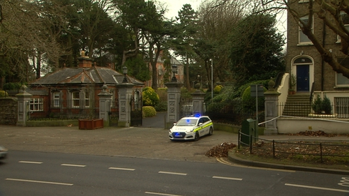 The victim was stabbed in the neck on Drumcondra Road on Tuesday evening