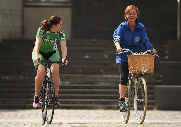 Noeleen took part in the Great Dublin Bike Ride