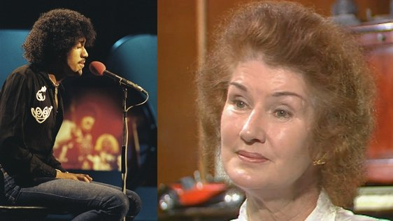 Philomena Lynott remembers her son in 1987
