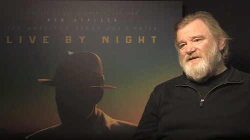 "Brendan Gleeson - Says Ben Affleck is ""an old style movie star"" and ""an actor's director"""