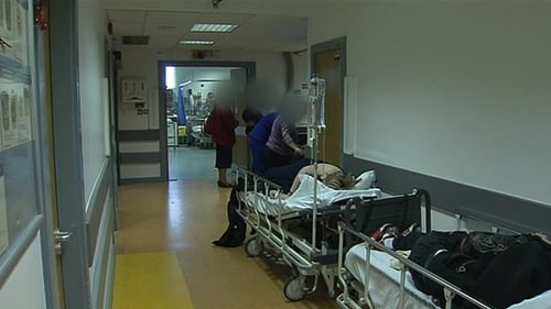 There were 1,800 fewer patients on trolleys last month, compared to November last year.