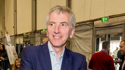 Máirtín Ó Muilleoir met with the DUP's Simon Hamilton earlier today
