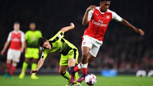 Alex Iwobi has incurred the wrath of manager Arsene Wenger