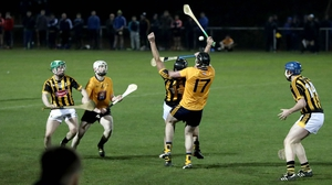 Kilkenny and DCU in action