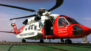 Coast guard helicopters from Dublin and Sligo assisted in the operation