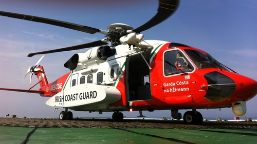 The Coastguard rescue service was alerted to the situation