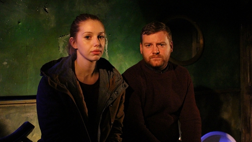 Stephen Jones and Seána Kerslake star in Jones' play From Eden, ths weekend's Drama On One presentation.