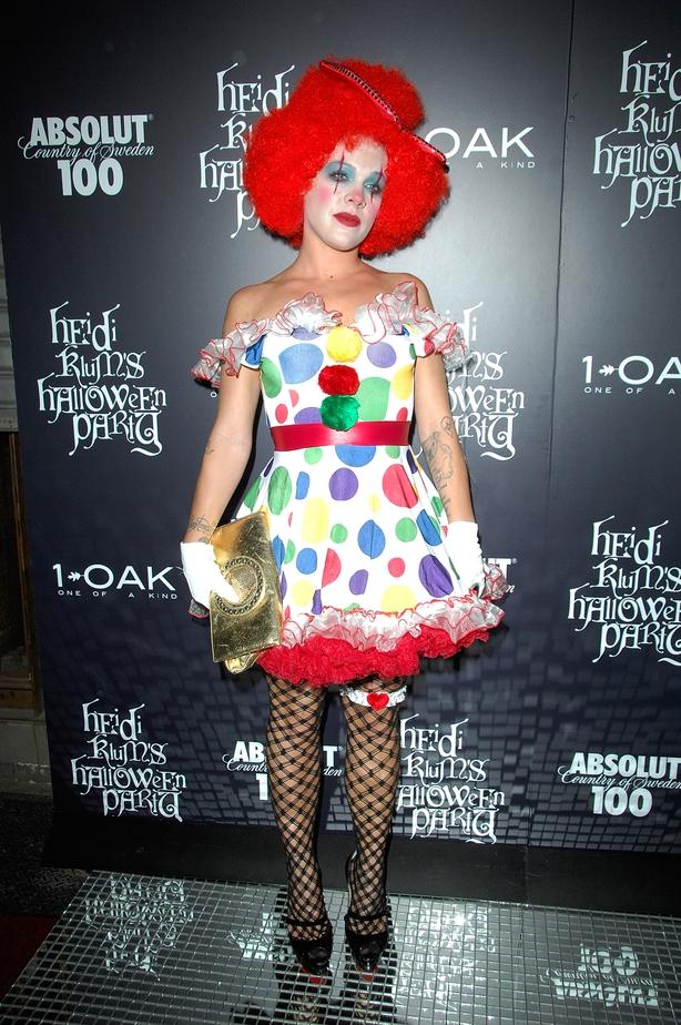 Pink is clownin' around