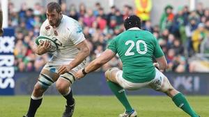 Robshaw in action against Ireland