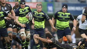Luke McGrath in action during Leinster's defeat in Montpellier last October
