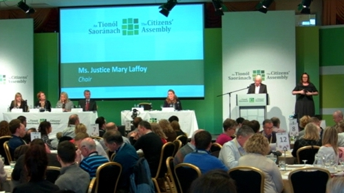 The Citizens' Assembly will meet again in February