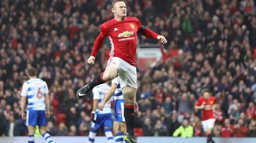 Wayne Rooney left Manchester United in 2017