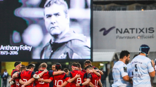 Eddie O'Sullivan: 'The whole emotion around Anthony Foley's passing - that will be all fed into Saturday'