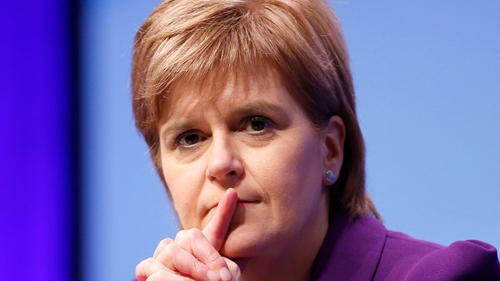 Nicola Sturgeon said a 'soft' Brexit could take the issue of a referendum off the table