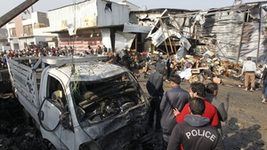 So-called Islamic State claimed responsibility for the attack at the Jamila market