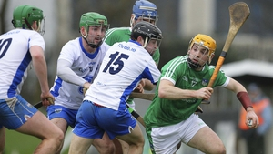 Seánie O'Brien comes away with posession for Limerick