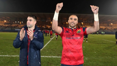 Conor Murray and Simon Zebo are leaders in the Munster team, according Tony Ward