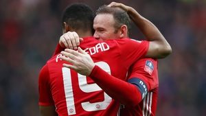 Rooney and Rashford were both on the scoresheet in the FA Cup win over Reading