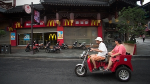McDonalds seeing strong sales in China, Japan and the UK