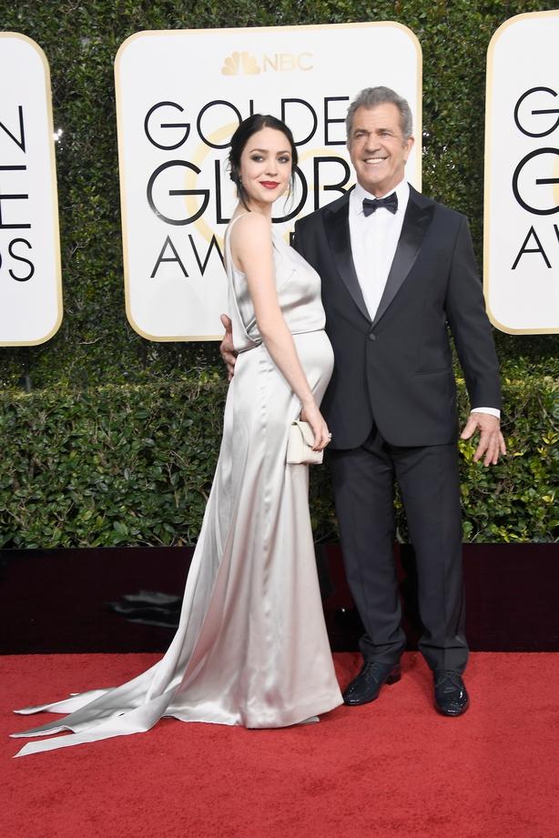 Rosalind Russ and Mel Gibson