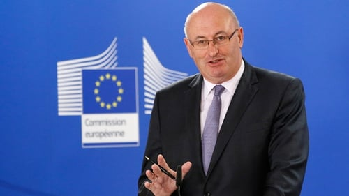 "Phil Hogan said the Withdrawal Agreement would not be changed in a""major way"""