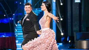 Des Cahill owning the dancefloor on Dancing with the Stars