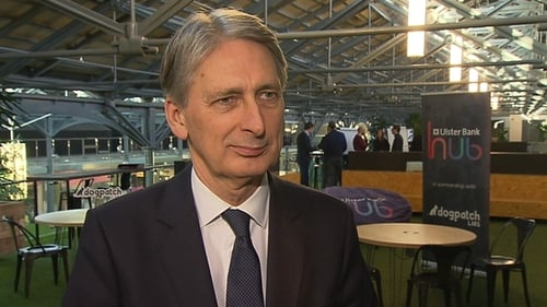 Philip Hammond said the British government has been very clear they want the UK to be able to control its own borders