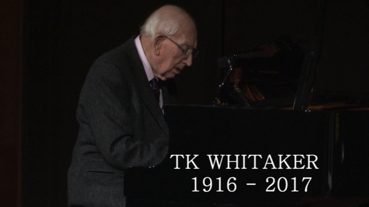 A reflection on the life of TK Whitaker