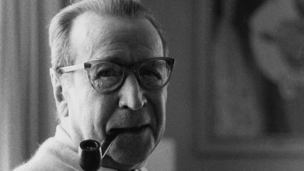 Georges Simenon (1903 - 1989) in 1972.