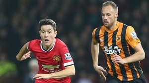 David Meyler could feature for Hull at Old Trafford