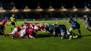 Munster beat Glasgow in the Pro12 at Scotstoun