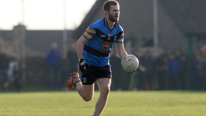 McCaffrey featured for the Students against Wexford last weekend