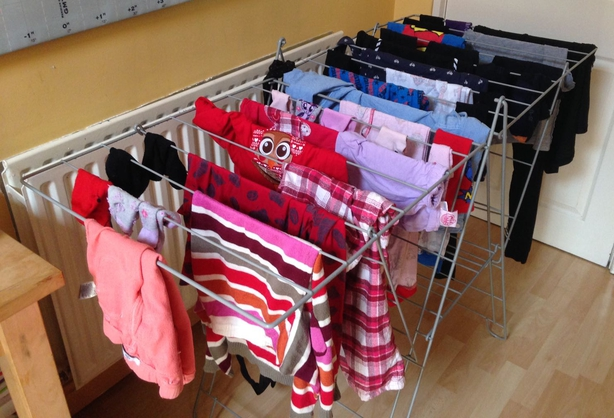 There are alternatives and precautions to drying clothes indoors. Pic: Alena Sanders