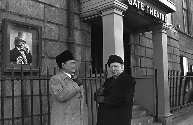 Mícheál Mac Liammóir and Hilton Edwards