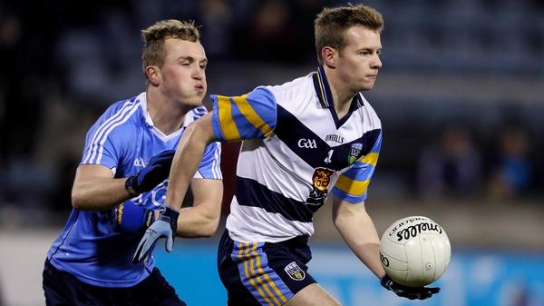 Dublin's Shane Cunningham closes down UCD's Peter Healy