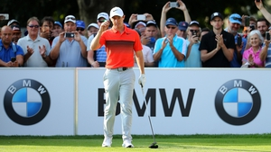 McIlroy in action during the opening round of the BMW South Africa Open Championship