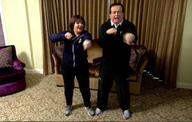 Brenda and Marty do Operation Transformation