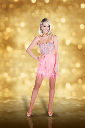 Dancing with the Stars: Aoibhín Garrihy - stunning in another mini-dress.