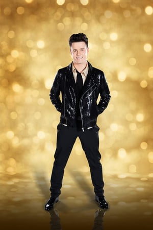 Dancing with the Stars: Dayl Cronin. Leather jacket adds some pop attitude to the Hometown stars look.